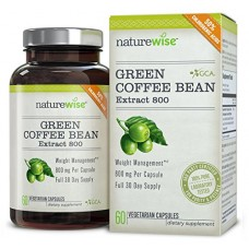 NatureWise Green Coffee Bean Extract 800 with GCA Natural Weight Loss Suppl