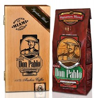 Cafe Don Pablo Collectable Gift Box with 12oz Signature Blend Specialty Cof