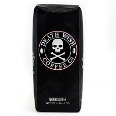 Death Wish Ground Coffee, The World's Strongest Coffee, Fair Trade and USDA