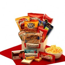 Gifts for College Students Study Snacks College Gift Baskets Associates Car
