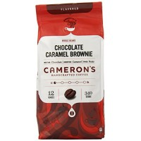 Cameron's Whole Bean Coffee, Chocolate Caramel Brownie, 12 Ounce