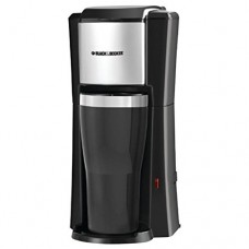Black & Decker CM618 Single Serve Coffee Maker, Black