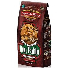 2LB Cafe Don Pablo Gourmet Coffee Signature Blend - Medium-Dark Roast - Who