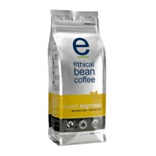 Ethical Bean Coffee Sweet Espresso, Medium Dark Roast, Whole Bean, 12-Ounce