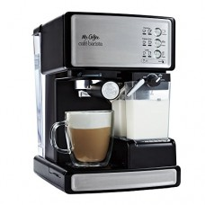 Mr. Coffee Cafe Barista Espresso Maker with Automatic milk frother, BVMC-EC