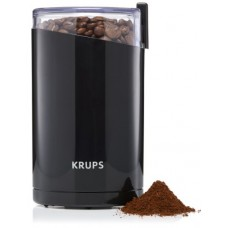 KRUPS F203 Electric Spice and Coffee Grinder with Stainless Steel Blades, 3