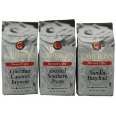 Cameron's Coffee Flavored Ground Coffee Variety Pack, 36-Ounce