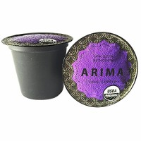 ARIMA Organic USDA Certified Specialty Grade Coffee, Single-serve Cups, Lim
