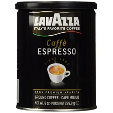 Lavazza Caffe Espresso Ground Coffee, Medium 8 oz